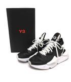 ワイスリー Y-3 adidas YOHJI YAMAMOTO 23.5cm 18AW KAIWA カイワ スニーカー レザー 黒 ブラック 白 ホワイト BC0908 /EK