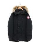 カナダグース CANADA GOOSE ダウンジャケット CHATEAU PARKA シャトーパーカー フード コヨーテファー M 黒 ブラック 3426M /KH ●D