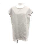 イエナ IENA VERMEIL par iena 19SS Tシャツ ペルーコットン カットソー ノースリーブ ライトグレー /YM