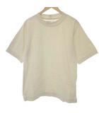 マーガレットハウエル MHL. L 20SS MATTE COTTON JERSEY Tシャツ カットソー 半袖 ベージュ /EK