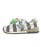 ニューバランス NEW BALANCE TOKYO CROSSING mita sneakers: スニーカー ストライプ 28.5cm グレー 白 CM996MIG /MF17