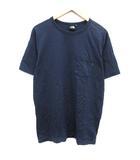 ザノースフェイス THE NORTH FACE Tシャツ カットソー  ショートスリーブコーデュラヘビーティー XL 紺 ネイビー NT31811 /KH