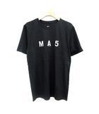 ナイキ NIKE 17SS フラグメント Fragment design Tシャツ NIKE LAB MA5 Tシャツ バックプリント ロゴ M 黒 ブラック /☆G