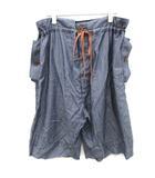 ヴィヴィアンウエストウッドマン Vivienne Westwood MAN 44 S サルエルパンツ イージー ショート 紺 ネイビー /EK