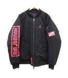 ナイキ NIKE 19SS JORDAN ジョーダン グラフィック ジャケット ブルゾン 中綿 アウター Asw Graphic Jacket ロゴ XL 黒 ブラック BQ6958-010 /KH
