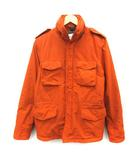 アスペジ ASPESI S NEW CAMP JACKET M-65 フィールドジャケット アウター ジップアップ ナイロン オレンジ /EK