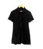 メゾンマルタンマルジェラ オールインワン サロペット パンツ ショート コットン 半袖 M 黒 /YI47