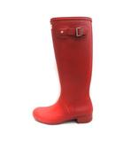 ハンター HUNTER US6 23.5cm 長靴 レインブーツ 赤 レッド /EK ●D