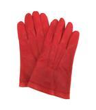 セルモネータ Sermoneta グローブズ gloves 手袋 レザー 8 赤 レッド /KT