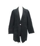 メゾンマルジェラ Maison Margiela テーラードジャケット シングル 黒 ブラック /TK