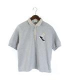 フェンディ FENDI キッズ シャツ カットソー ロゴ 裏起毛 半袖 12 155cm グレー /SR