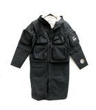 ナイキ NIKE アンダーカバー UNDERCOVER M コート ジャケット ベスト 3WAY AS M NRG SR PARKA 黒 ブラック /TK