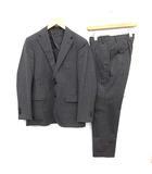 COLOMBO SUPER130's スーツ セットアップ 上下 ジャケット パンツ シングル 2B サイドベンツ A4 90-78-165 S グレー /KH