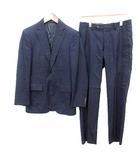 スーツ セットアップ シングル ジャケット パンツ 42 ネイビー 紺  /☆G