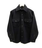 ジョンソンウーレンミルズ Johnson Woolen Mills XS ジャケット ウール アウター 黒 ブラック /EK