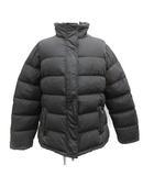 プラダスポーツ PRADA SPORT 中綿ジャケット ジップアップ ナイロン 40 L 黒 ブラック /MF13 ●D