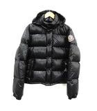エベレスト EVEREST ダウンジャケット アウター スタンドカラー フード 2 M 黒 ブラック /KH