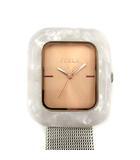 フルラ FURLA 腕時計 クオーツ 金属ベルト グレー シルバー 4253111 502-78962 /KH ■OH