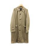 コムデギャルソンオム COMME des GARCONS HOMME AD2018 バルマカーンコート ステンカラー トレンチ Cotton Gabarrdine Coat ロング M ベージュ /KH