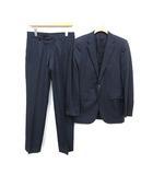 スーツ セットアップ 上下 テーラードジャケット パンツ 2B センターベント 44 S 紺 ネイビー /KH