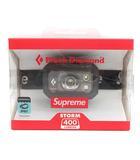 シュプリーム SUPREME 20AW Black Diamond Storm 400 Headlamp ヘッドライト 黒 ブラック /MF30