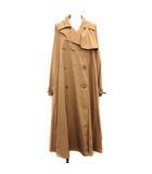マックスマーラ MAX MARA 19SS トレンチコート albano trench coat 春アウター ダブル ロング 42 XL ベージュ /KH