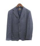 ヒールド Hield テーラードジャケット ジレ付き サイドベンツ ウール 紺 ネイビー /PJ