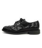 サンダース SANDERS ビジネスシューズ ミリタリー ダービー シュー Military Derby Shoe ストレートチップ キャップトゥ レザー 5.5 24.5cm 黒 ブラック 英国製 1128B /YM