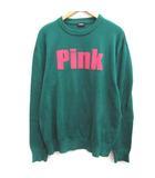 ディーゼル DIESEL L ニット セーター Pink 長袖 緑 グリーン /EK
