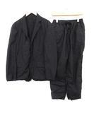 テアトラ TEATORA スーツ セットアップ 上下 テーラードジャケット パンツ PACKABLE wallet pants p Device JKT-P 3 L 黒 ブラック /KH