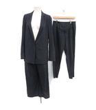 アイシービー iCB 17SS 3点セット スーツ セットアップ 上下 テーラードジャケット シングル 1B パンツUS6 紺 ネイビー /MF4