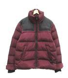 ディーゼル DIESEL 20AW S ダウンジャケット アウター A00555-W-RUSSEL-0HAVA ジップアップ 赤紫 ボルドー /TK