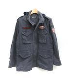 ヒステリックグラマー HYSTERIC GLAMOUR FREE M-65 フィールドジャケット ミリタリー ワッペン 紺 ネイビー /TK