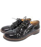 エムエムシックス MM6 メゾンマルジェラ シューズ エナメル レースアップ 靴 37 23.5cm 黒 ブラック /☆G