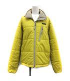 パタゴニア Patagonia S パフジャケット 中綿 アウター ジップアップ 黄色 イエロー 84030 /TK