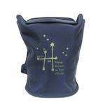 エルメス HERMES 1999年限定 リュックサック デイパック 星を巡る旅展 会場限定販売 星 星座 紺 ネイビー /PJ ■OH
