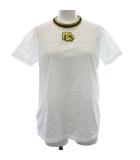 プラダ PRADA 19SS Tシャツ カットソー 半袖 ロゴ ラバー S 白 ホワイト /ST