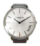 ペリー PERRY 腕時計 クォーツ レザー シルバー色 14503155 /YI3