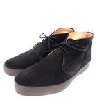 サンダース SANDERS JOEL ブーツ チャッカブーツ スエード US9 27cm 黒 ブラック 6480BS  /☆G