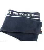 ルイヴィトン LOUIS VUITTON マフラー ルイヴィトンカップ カシミヤ混  ネイビー /☆G