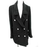 ダブルスタンダードクロージング ダブスタ DOUBLE STANDARD CLOTHING ジャケット ダブル パイル生地 黒 /YH