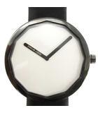 イッセイミヤケ ISSEY MIYAKE TWELVE 腕時計 クォーツ 深澤直人デザイン 黒 VJ20-0020 /YH