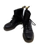 ドクターマーチン DR.MARTENS ブーツ ショート 8ホール Smooth UK8 黒 ブラック 1460 /KH