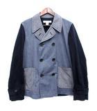 コムデギャルソンシャツ COMME des GARCONS SHIRT ジャケット  コーデュロイ デニム 薄手 異素材 S ネイビー  /☆G