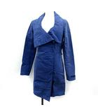 タトラス TATRAS スプリングコート ロング 1 青 ブルー LTA14S4384 /YM ■KRB