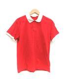 モンクレール MONCLER ポロシャツ MAGLIA POLO MANICA CORTA 半袖 L 赤 /TK