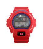 ジーショック G-SHOCK atmos 腕時計 赤 DW-6900FS /☆Q3