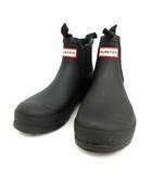 ハンター HUNTER 長靴 レインブーツ ショート ORIGINAL CHELSEA TWO TONE UK5 黒 /TK