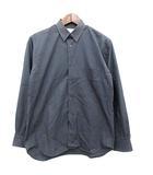 コムデギャルソンシャツ COMME des GARCONS SHIRT シャツ 長袖 無地 XS チャコールグレー/ /☆G