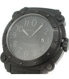 ハミルトン HAMILTON 腕時計 プロダイバーズウォッチ 自動巻き カーキビロウゼロ 1000 黒 ブラック H785850 /KH
